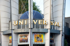 Mémoire de Hollywood de studios universels Images stock