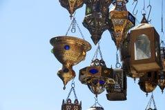 mémoire de Marrakech Maroc de lampes image stock