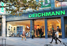 Mémoire de mode de Deichmann à Francfort Photo stock