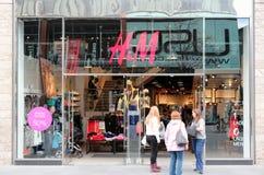 Mémoire de mode de H&M photos libres de droits