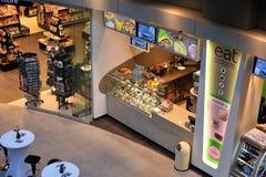 Mémoire de nourriture dans l'aéroport Photographie stock