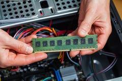 Mémoire de Ram Photos stock