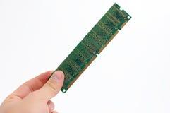 Mémoire de RAM de fixation Photographie stock