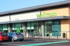 Mémoire de supermarché de Waitrose. Photographie stock libre de droits
