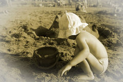 Mémoire de vacances Images libres de droits