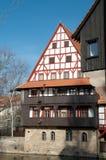 Mémoire de vin (Weinstadel), Nuremberg, Allemagne Images libres de droits
