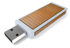 Mémoire Flash d'Usb Photo libre de droits