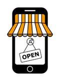 Mémoire mobile Image libre de droits