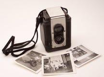 Mémoires d'appareil-photo de cru Photographie stock libre de droits