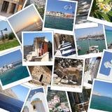 Mémoires de vacances Image stock