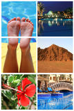 Mémoires de vacances d'Egypte Photo libre de droits