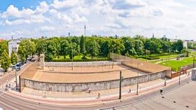 Mémorial à Berlin Wall dans Bernauer Strasse, Berlin - Allemagne Photos stock