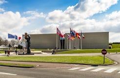 Mémorial à Caen Photo libre de droits