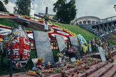 Mémorial à Kiev Photo libre de droits