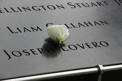 9/11 mémorial Photos libres de droits