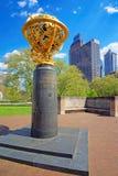 Mémorial aérien dans l'aviateur Park à Philadelphie Image stock