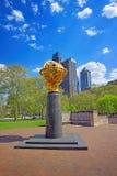 Mémorial aérien dans l'aviateur Park de Philadelphie Images libres de droits