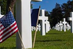 Mémorial américain de guerre Photos stock