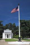 Mémorial américain de guerre Photographie stock libre de droits