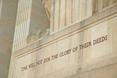 Mémorial américain de l'Aisne-Marne Image libre de droits