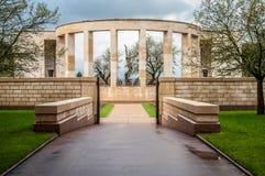 Mémorial au tombé en Normandie Images libres de droits