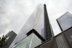 9/11 mémorial au World Trade Center, point zéro Photo stock