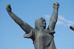 Mémorial aux héros de la révolution de 1905 ans, fragment Image libre de droits