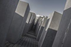 Mémorial aux juifs assassinés de l'Europe Image stock