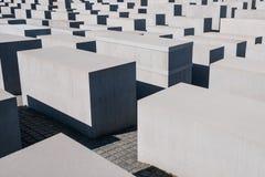 Mémorial aux juifs assassinés de l'Europe/de mémorial d'holocauste dedans Photo libre de droits