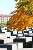 Mémorial aux juifs assassinés de l'Europe dedans, Berlin Photos stock