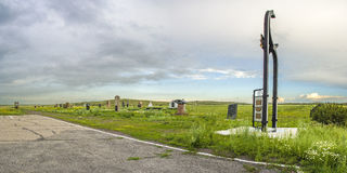 Mémorial aux prisonniers de KarLang dans Spassky Photos libres de droits