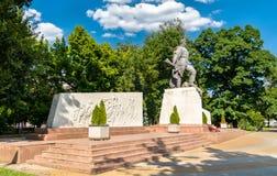 Mémorial aux soldat-libérateurs soviétiques de Krasnodar Russie photographie stock