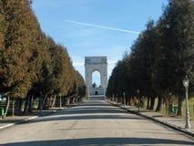 Mémorial aux soldats italiens qui sont morts Images libres de droits