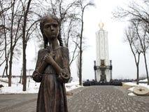 Mémorial aux victimes de Holodomor Images stock
