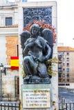 Mémorial aux victimes de l'attaque terroriste à Madrid l'espagne image libre de droits