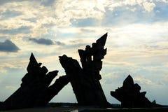 Mémorial aux victimes du nazisme Neuvième fort kaunas lithuania Photo libre de droits