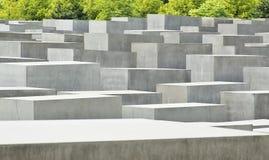 Mémorial Berlin d'holocauste Photos stock