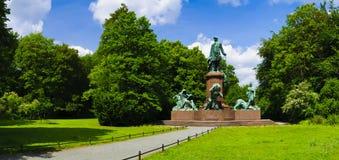 Mémorial Berlin de Bismarck Image libre de droits