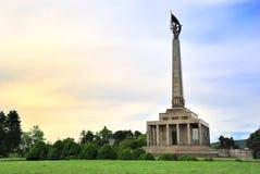 Mémorial Bratislava de Slavin Photographie stock libre de droits