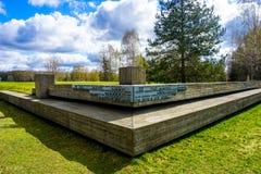 Mémorial complexe commémoratif de Khatyn images libres de droits