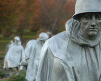 Mémorial coréen Images stock