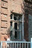 Mémorial d'école de Beslan, où l'attaque terroriste était en 2004 Image libre de droits