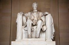 Mémorial d'Abraham Lincoln Photos libres de droits