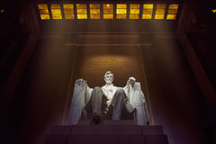 Mémorial d'Abraham Lincoln Photos libres de droits