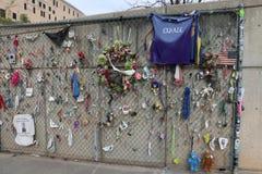 Mémorial d'Afred P Murrah de Ville d'Oklahoma Image libre de droits