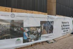 Mémorial d'Afred P Murrah de Ville d'Oklahoma Images libres de droits