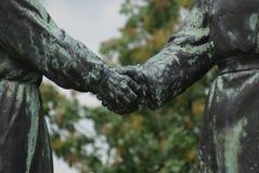 Mémorial d'amitié de Hongrois-Soviétique - parc de souvenir - Budapest Photos libres de droits