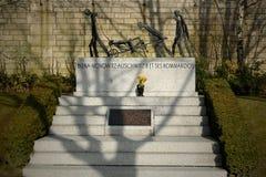 Mémorial d'Auschwitz III Photo stock
