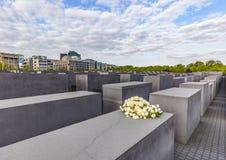 Mémorial d'holocauste à Berlin Image stock