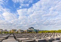 Mémorial d'holocauste à Berlin Images libres de droits